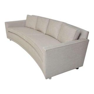 Dunbar Curved Sofa by Edward Wormley