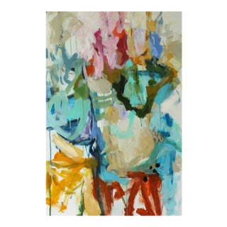 """Moko Jumbie"" Original Painting by Gina Cochran"