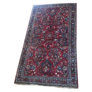 Antique Persian Rug - 2′1″ × 4′