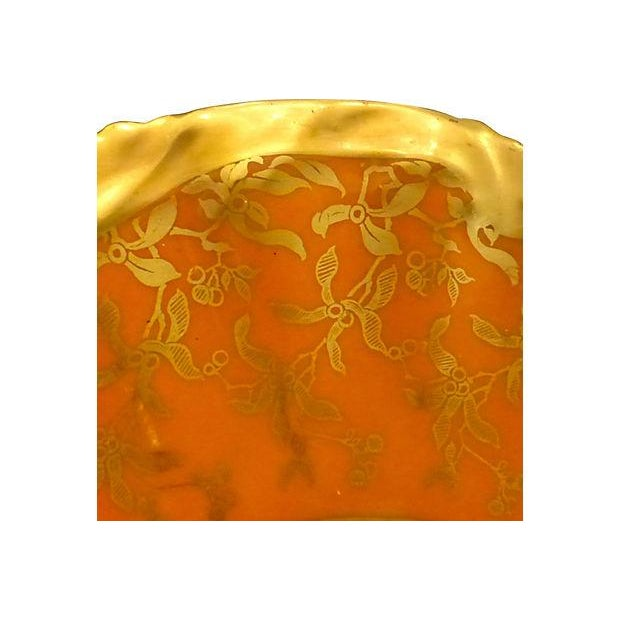 Limoges Hand Painted Gold Decorative Plate - Image 3 of 5
