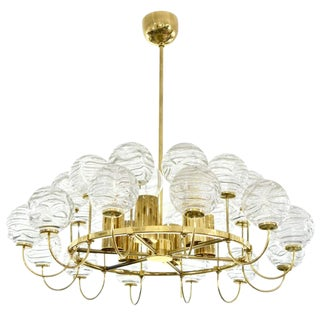Ice Glass Snowball Chandelier