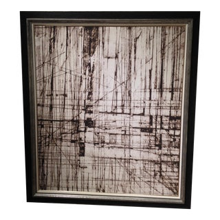 """Ethan Allen Large Scale """"Architecture of Lines"""""""