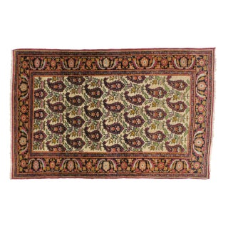 "Leon Banilivi Antique Persian Kermanshah Rug - 3'4"" x 5'10"""