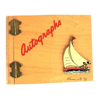 Ithaca NY Autographs Book