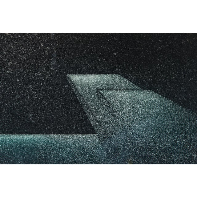 Image of 1977 Signed Abstract Lithograph