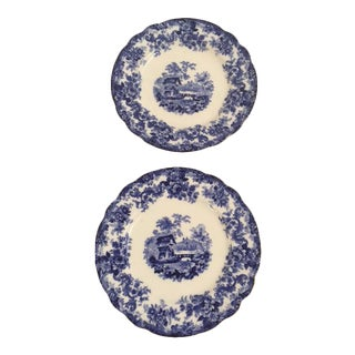 A Pair of Minton Bread Plates