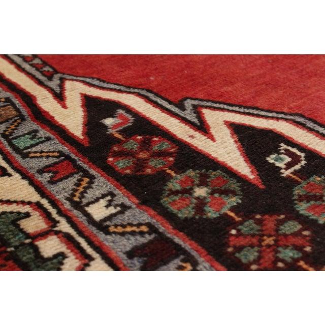 "Hamadan Vintage Persian Rug, 4'7"" x 6'11"" - Image 2 of 2"