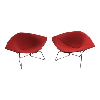 Bertoia Diamond Chairs - A Pair