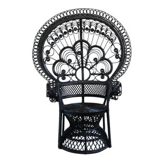 Black Matahari Peacock Chair