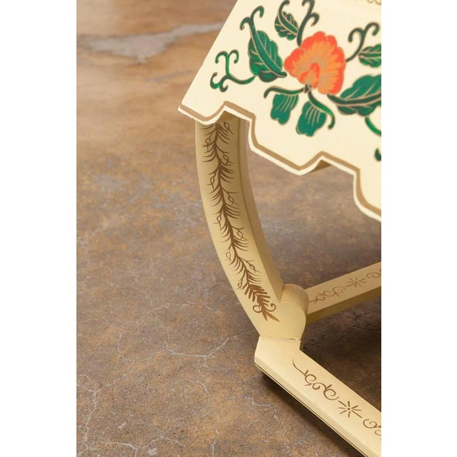 Chinese Lacquered Garden Stool - Image 7 of 10
