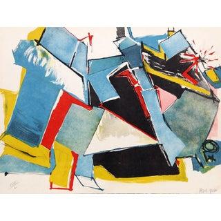 "Jasha Green, ""Untitled 18,"" Lithograph"