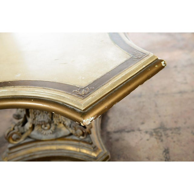 Venetian End Tables with Rococo Pedestals - A Pair - Image 8 of 11