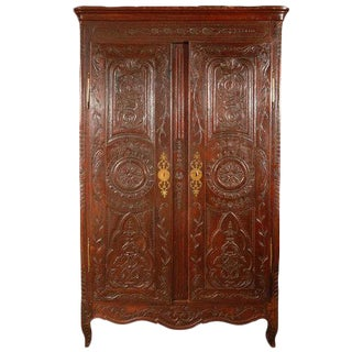 Antique Louis XV Armoire