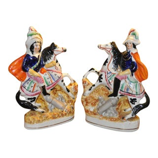 Staffordshire General Figures - A Pair