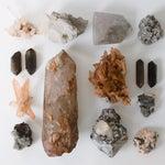 Image of Hematite & Iron Marbling Quartz Crystal