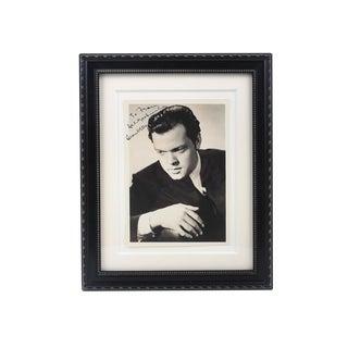 Orson Welles Original Autographed Headshot Photo