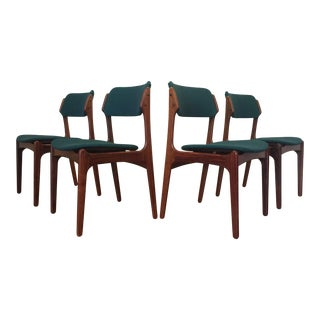 Erik Buch Rosewood Dining Chairs - Set of 4