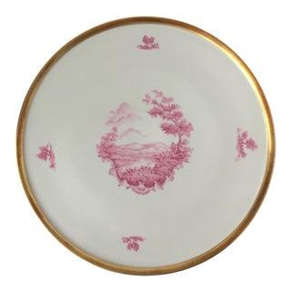 Antique Bavaria Porcelain Cake Serving Plate