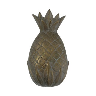Vintage Brass Pineapple Object