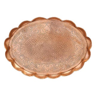 Antique English Copper Tray