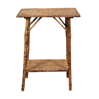 Small English Victorian Bamboo Table
