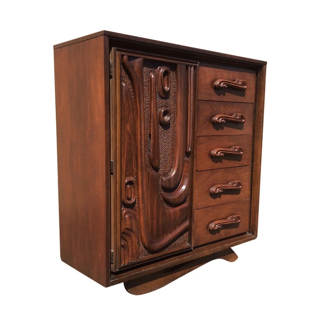 Witco Oceanic Style Brutalist Dresser - Image 1 of 11