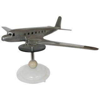 Douglas DC-2 Airplane Aluminum Model Lamp, circa 1934