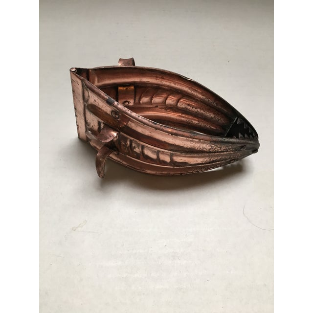 Image of Antique Copper Coal Tongs