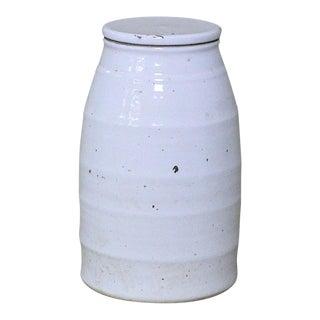 Sarried Ltd Small White Ceramic Milk Jar