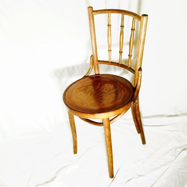 Antique Bentwood Thonet Cafe Chair Chairish