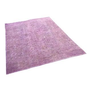 """Purple Pakistan Wool Area Rug - 145"""" x 177"""""""