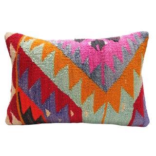 "Vintage Kilim Pillow Multi II - 14"" x 20"""