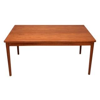 Danish Teak Extending Dining Table