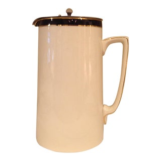 Queen's Blue Soho Pottery Coffee Pot