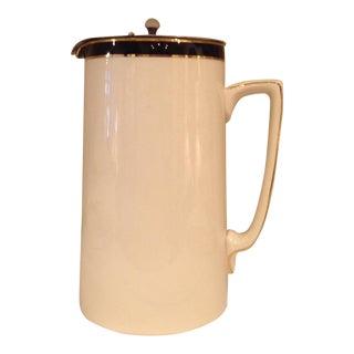 Queen's Blue Soho Pottery Coffee Pot