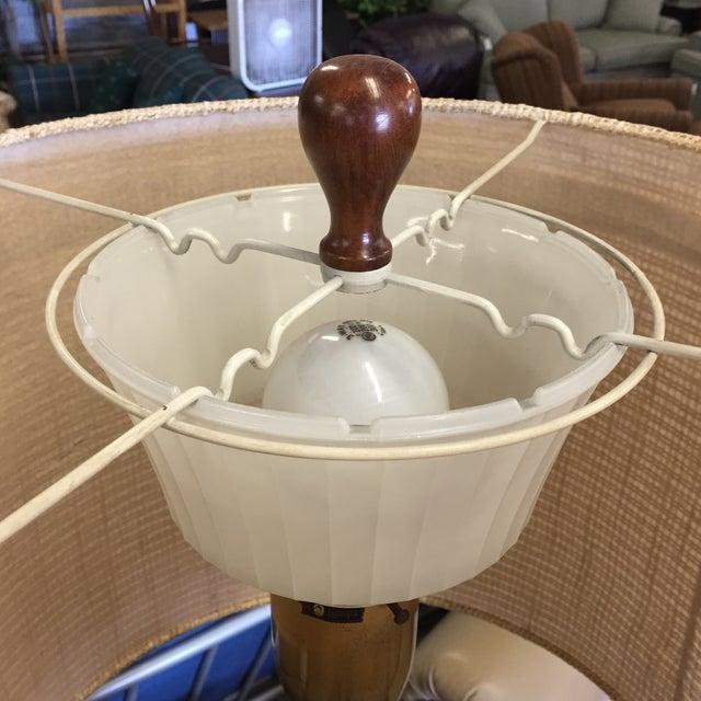 Mid-Century Ceramic Table Lamp - Image 6 of 6