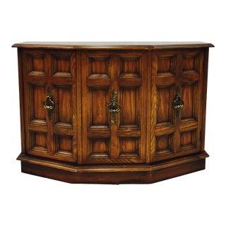 Mid-Century Credenza Console Cabinet
