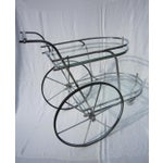 Image of Italian Chrome Bar Cart