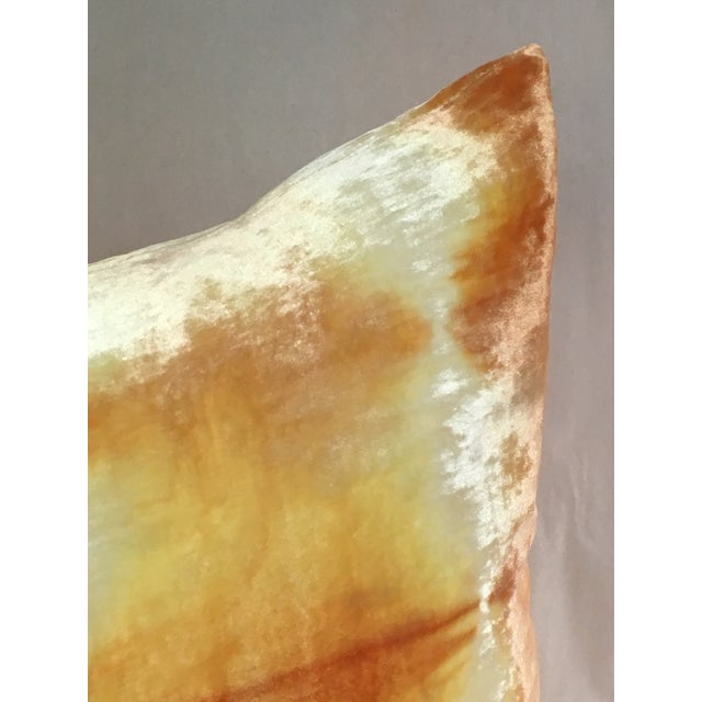 Kevin O'Brien Ombre Velvet Pillow - Image 4 of 7