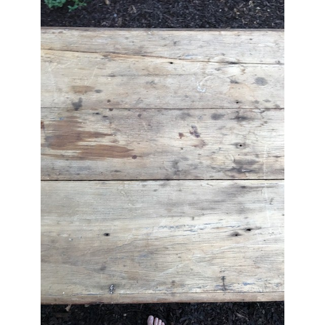 Antique Farmhouse Dining Table - Image 10 of 10