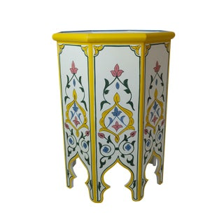 Moroccan Artisan Side Table