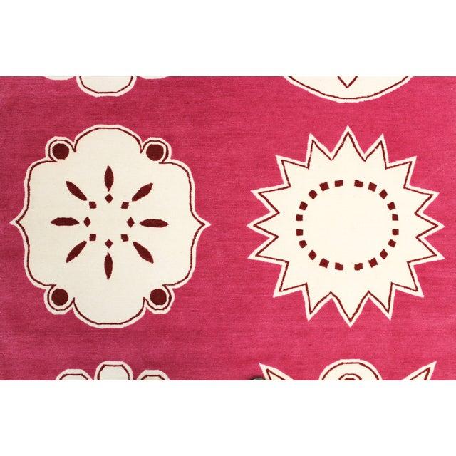 "Madeline Weinrib Pink ""Medina"" Rug - 4' x 6' - Image 4 of 9"