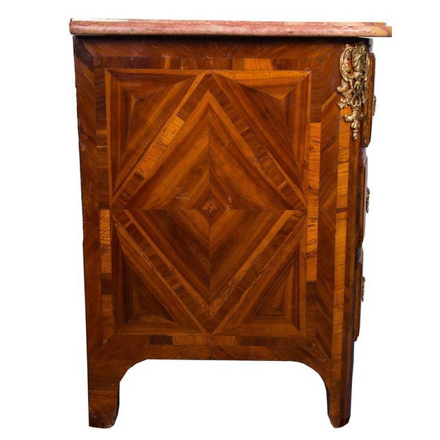 French Regence Inlaid Commode - Image 2 of 5
