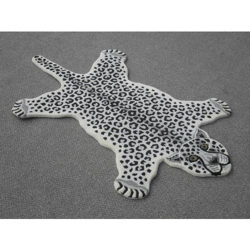 Modern Hand-Tufted Leopard Skin Shape Wool Rug - 3' x 5' - Image 2 of 5