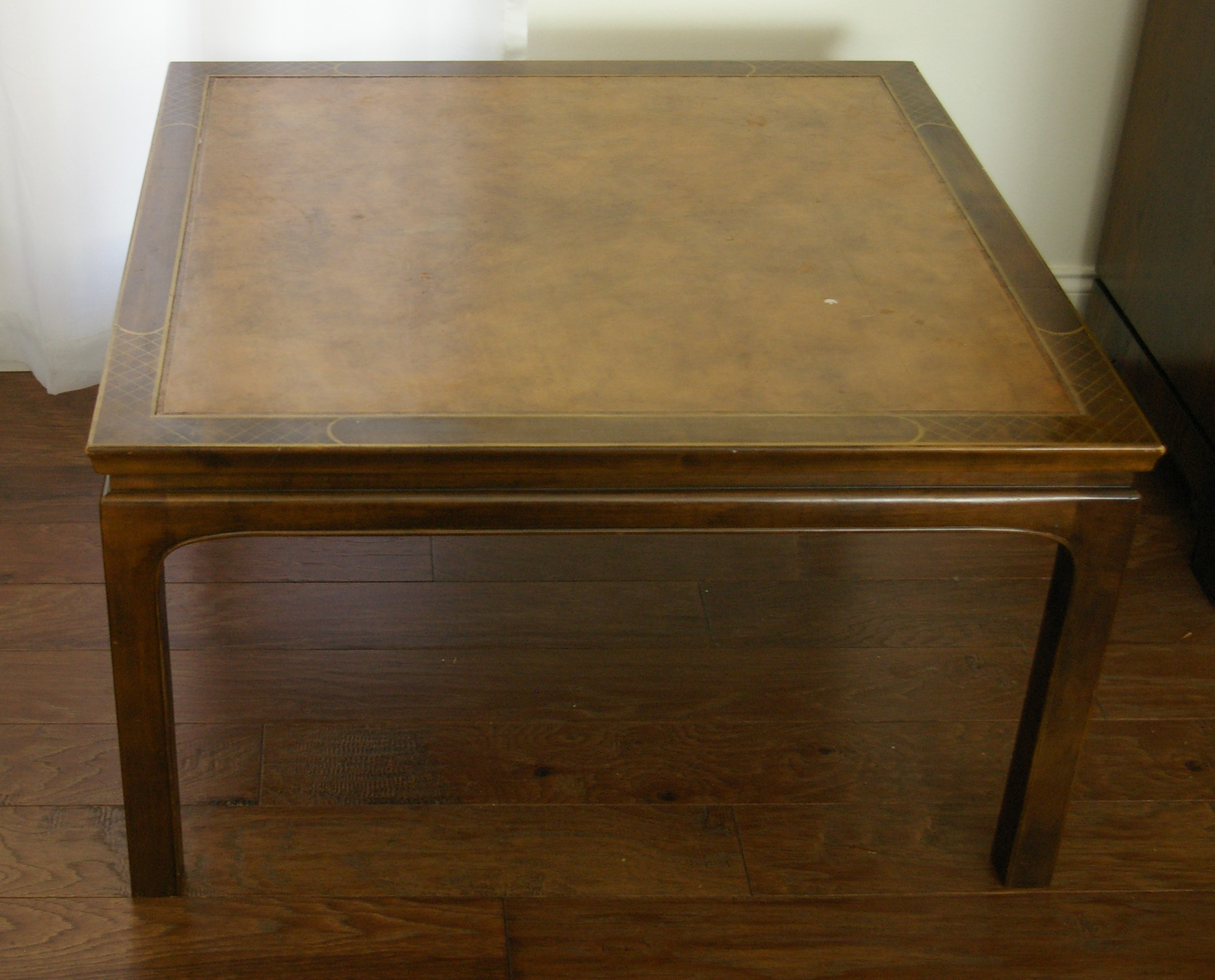 Image Of Baker Furniture Chinoiserie Coffee Table