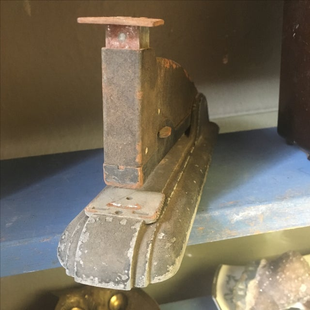 Vintage Industrial Rusty Stapler - Image 7 of 7