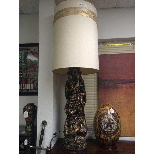 Large Mid-Century Geisha Lamp - Image 6 of 6