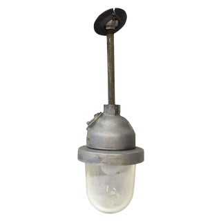 1940s Explosion Proof Light With Pole