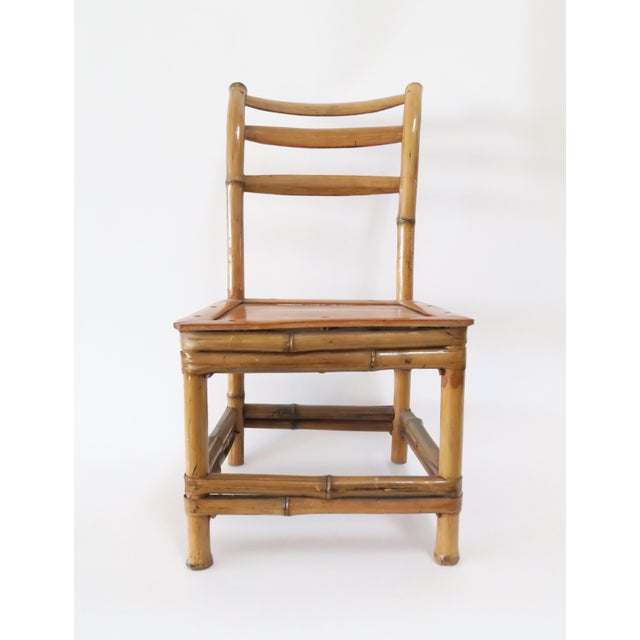 Image of Child's Bamboo Chair
