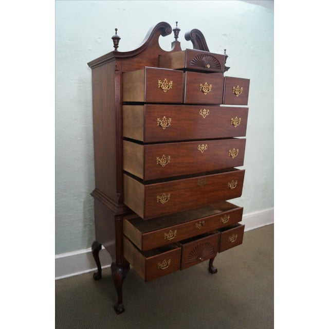 Image of Baker Collectors Edition Chippendale Style Highboy